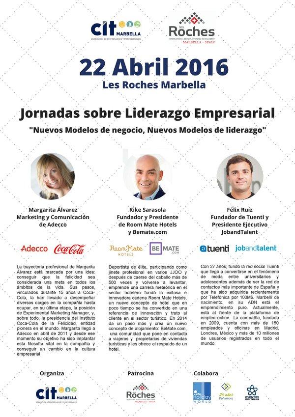 Jornadas Liderazgo Empresarial CIT Marbella
