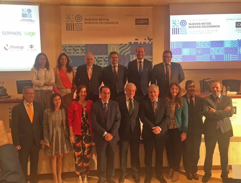 """Grupo Peñarroya patrocina el IV Foro Empresarial """"Nuevos retos, nuevos escenarios"""""""