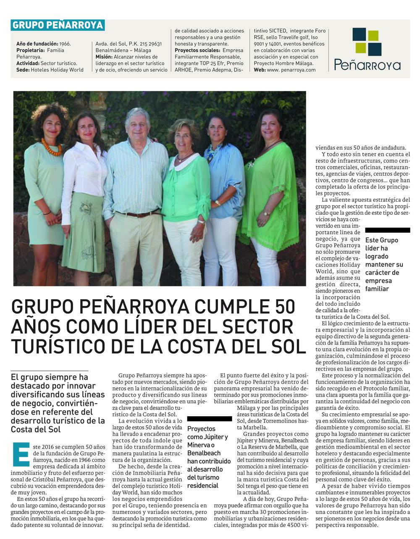 50 años Grupo Penarroya en Diario Sur